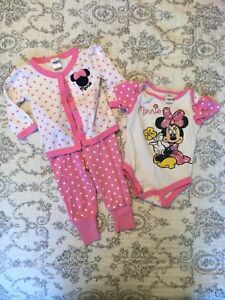 Minnie Mouse Pajama Set (9 Months)