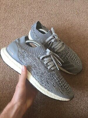 Adidas Ultra Boost Uncaged Size 9 UK Trainers Grey Running Casual Parley