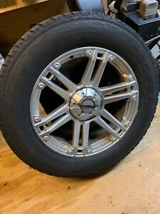 Dodge Ram Winter tires and rims.