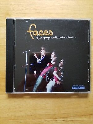 Faces Five Guys Walk Into A Bar Rhino 15 Track Sampler CD (Faces Five Guys Walk Into A Bar)
