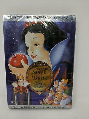Snow White and the Seven Dwarfs (DVD, 2001, 2-Disc Set, Platinum Edition)