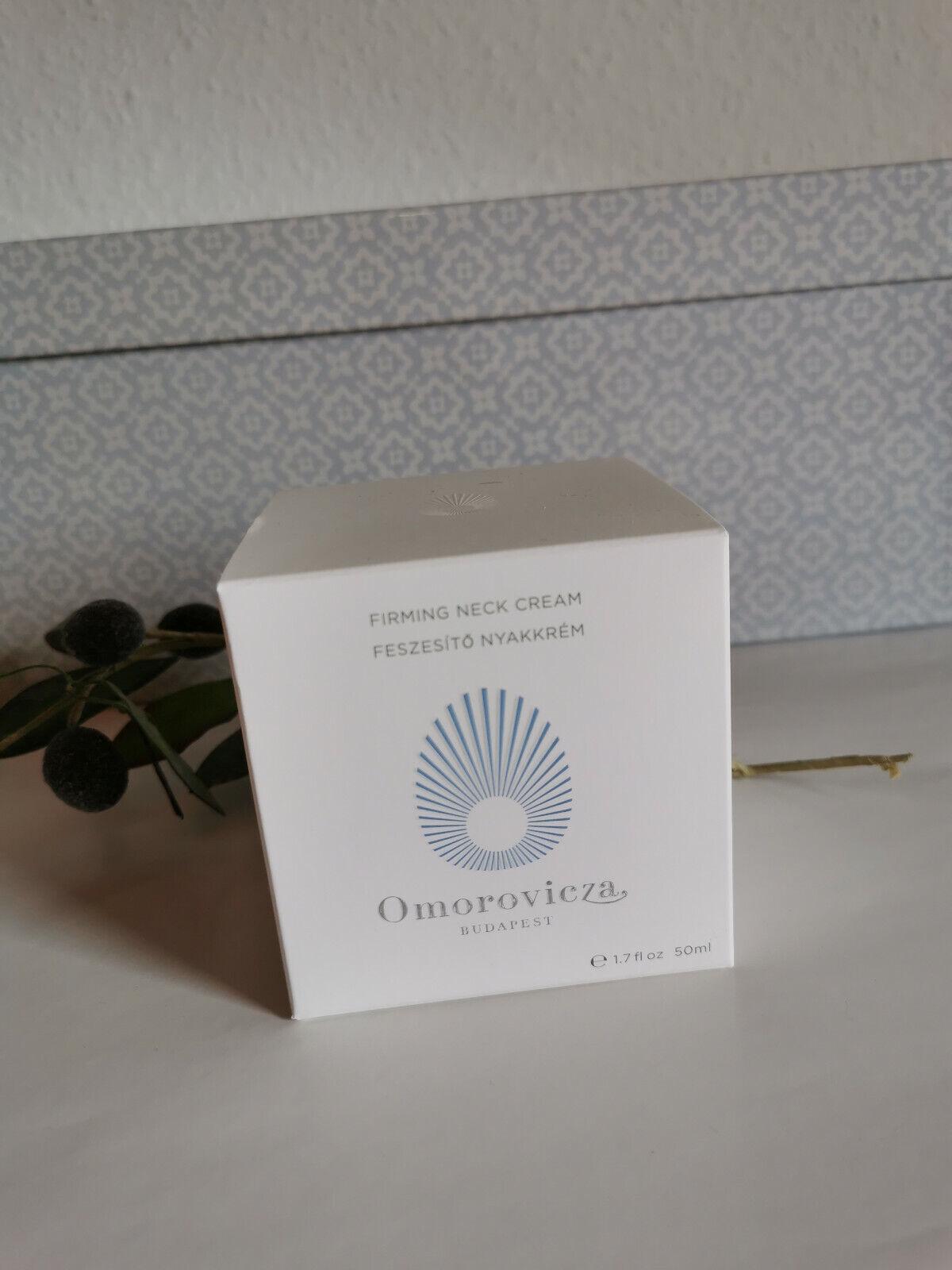 Omorovicza Firming Neck Cream Hals & Dekolleté Feuchtigkeitspflege 50ml NEU OVP