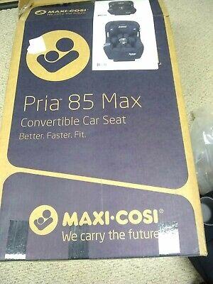 Maxi-Cosi Pria 85 Max Convertible 5-85 lb. Baby Car Seat, Night Black (Open Box)
