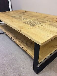 Modern handcrafted coffee table