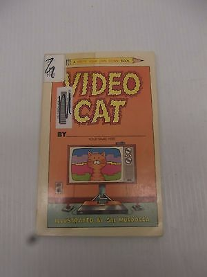 Video Cat A Write Your Own Book Illustrated By Sal Murdocca Paperback Ex Library