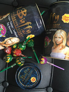 Buffy the Vampire Slayer Collectable Candy Tins