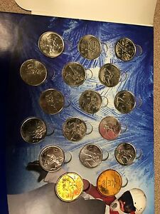2010 Olympic coin collection