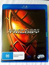 Spiderman Trilogy DVD Blu Ray Bluray Beenleigh Logan Area Preview