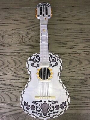 Disney Pixar Coco White Skeleton Guitar
