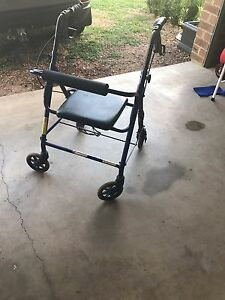 Mobility A Frame Walker with resting seat Enfield Golden Plains Preview