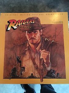 Raiders of the lost ark soundtrack LP