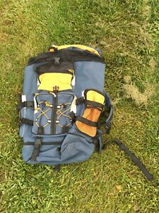 Outdoor gear camping backpack.