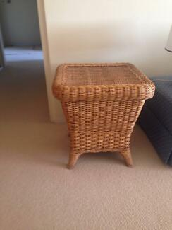Excellent Condition - Cane Side Table Cremorne North Sydney Area Preview