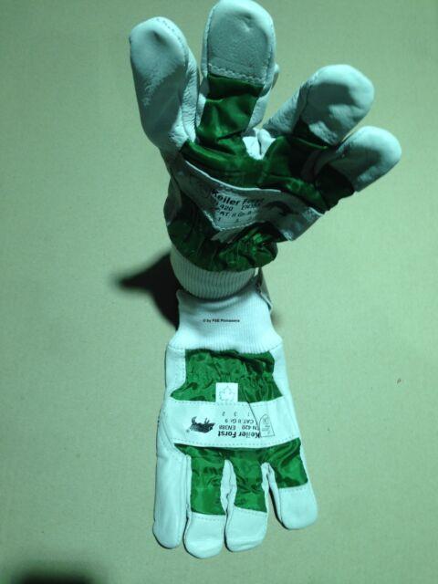 2 Paar KEILER Forst-Handschuhe Gr. 8,0 Forsthandschuhe