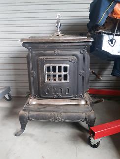 Antique wood heater/ stove