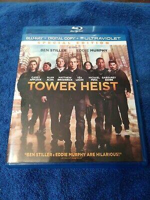 Tower Heist (Blu-ray Disc, 2013, No Digital Copy)