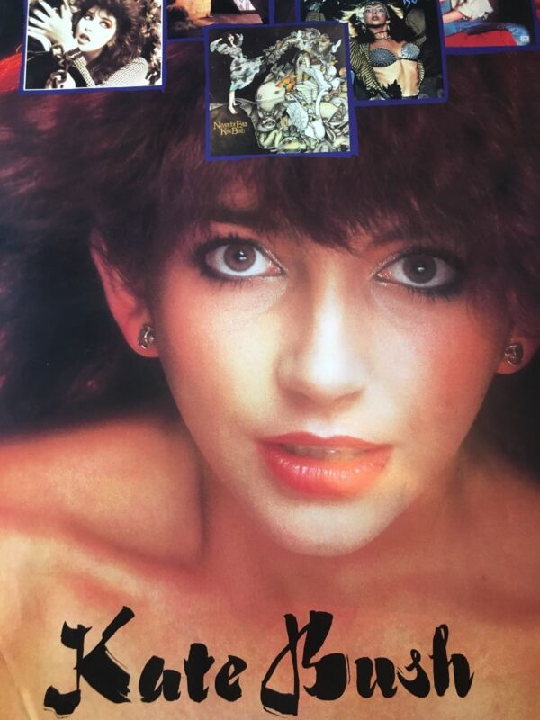 Kate Bush  Authentic And Rare Promo Poster 1984