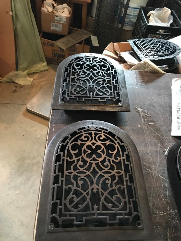 A 3 2 Av Price Each Antique Arch Top Wall Mount Heating Grate 11 x 14.25