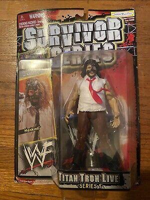 WWE Jakks Mankind Survivor Series Titan Tron Live Series 1 MOC WWF Mattel