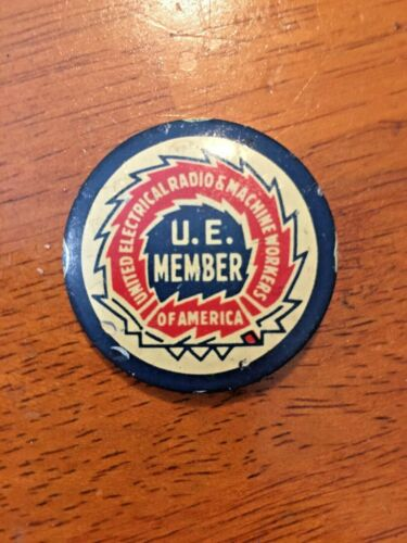 United Electrical Radio and Machine Workers of America, Green Duck Co Button Pin