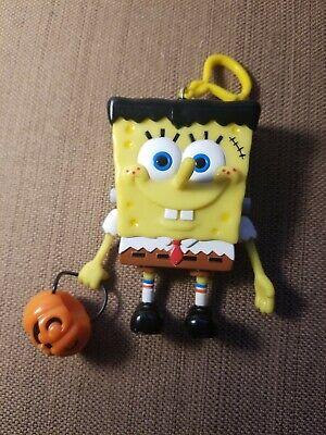 Sponge Bob Halloween (Spongebob Squarepants Key Chain Key Ring Halloween Pumpkin Sponge Bob)