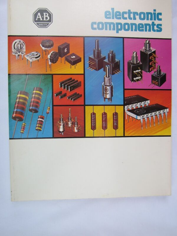 Allen Bradley 1979 Electronic Components Catalog