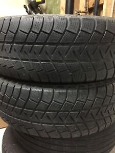 2-225/65R17 Michelin winter tires