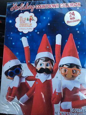 Elf on the Shelf Holiday Candy Chocolate Countdown Calendar - 24 Days. Exp 2022