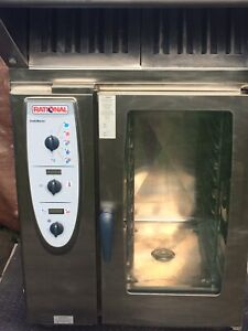 Rational CM101  Commercial Combi-oven.