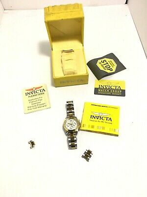 Invicta  Speedway 9212 Wrist Watch 20ATM W/ Original Case Untested