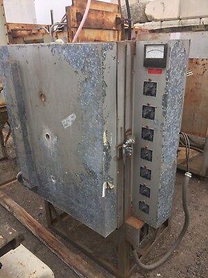 Cress Kiln Furnace Heat Treat Oven Model C-30-fh 230 V