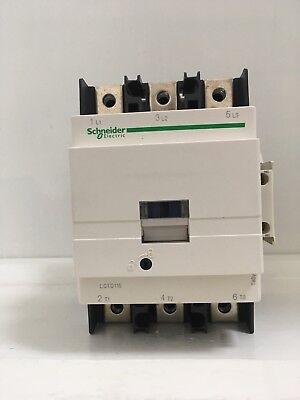 Genuine Schneider Electric TeSys D 3 Pole Contactor LC1 D1156P7