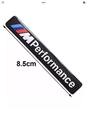 M PERFORMANCE INT STICKER/BADGE/DECAL BLACK SUIT BMW UK STOCK FREE FAST DELIVERY