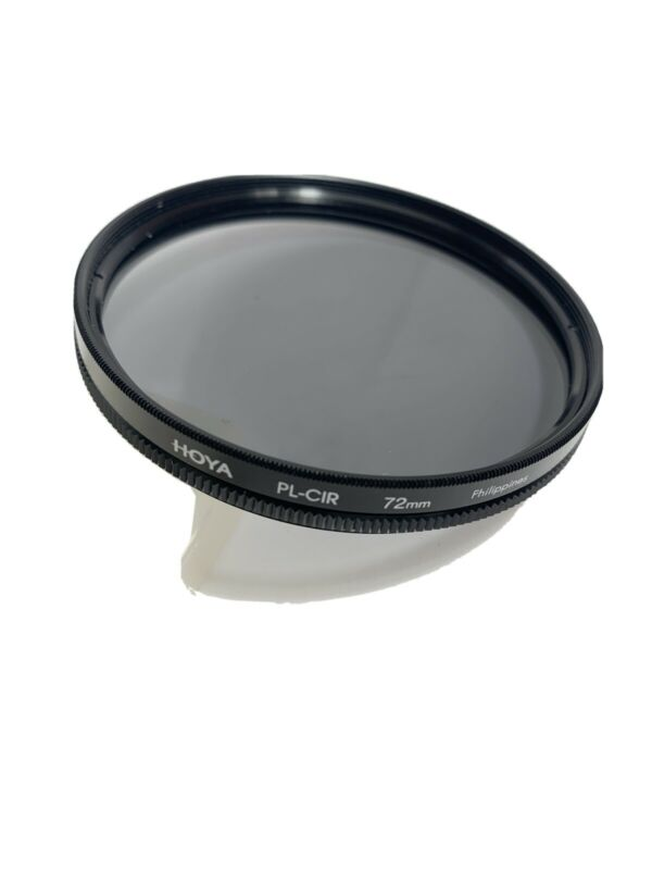 HOYA PL-CIR CIRCULAR POLARIZER FILTER 72MM