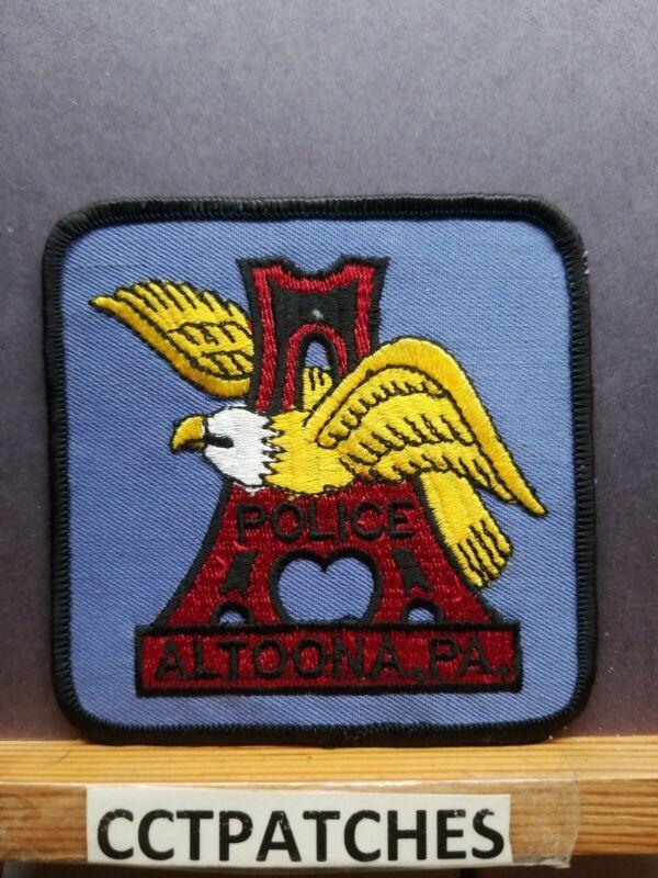 ALTOONA, PENNSYLVANIA POLICE (FACE LEFT) SHOULDER PATCH PA