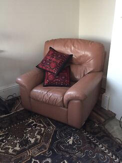 Leather lounge chairs x 2 West Hobart Hobart City Preview