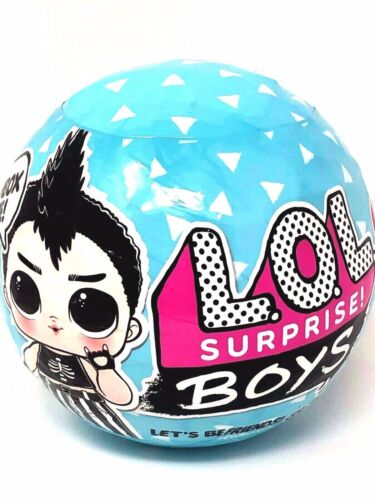 LOL Surprise BOYS Series 1 Wave 1 IN HAND Authentic 1 Sealed Blue Ball Boy Doll