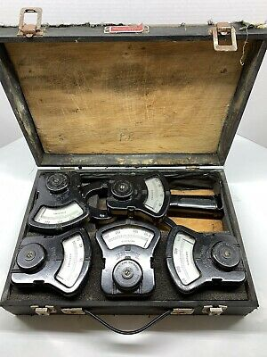 Vintage Martindale Electrical Tong Amp Tester In Wooden Box
