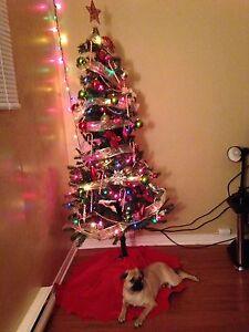 Christmas tree and stand