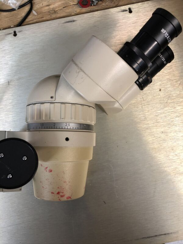 OLYMPUS stereo zoom SZ III  MICROSCOPE With Mount And 10x Eye Pieces