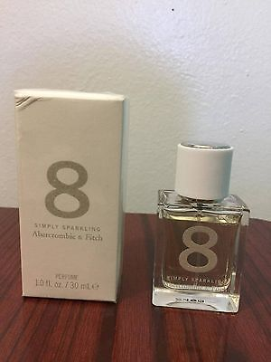 Brand New Abercrombie 8 Simply Sparkling Limited Edition Perfume 1.0 Oz Sealed for sale  New York