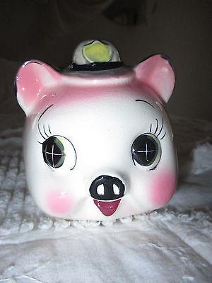 Vintage Piggy Bank Japan Police Fire Department Hat Belt Westpac Best Price