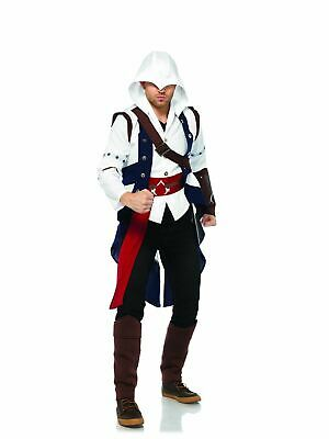 Adult Assassin's Creed III Connor Costume, Halloween Cosplay sizes XS & Small - Assassin Creed Kostüm Halloween