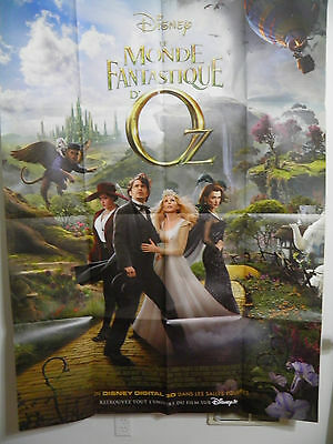 OZ : THE GREAT AND POWERFUL LARGE FRENCH MOVIE POSTER 2013 James Franco