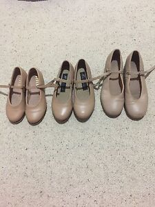 Bloch, Energetics and Capezio Tap Shoes. $10 each. $25 for all. Buderim Maroochydore Area Preview