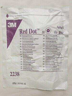 3m Red Dot Monitoring Ecg Electrode 2238
