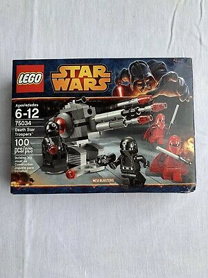 LEGO STAR WARS 75034- DEATH STAR TROOPERS- NEW SEALED BOX