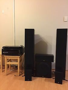 Yamaha home theatre system with Samsung blu-ray player Morley Bayswater Area Preview