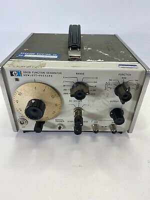 Hp 3310b Function Generator 0.0005hz To 5mhz