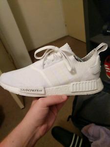 Japan pk nmd, white, size 10.5